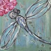 Dragonfly Baby Art Print