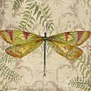 Dragonfly Daydreams-a Art Print