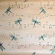 Dragonfly Symphony Art Print