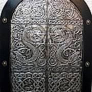 Dragons Door Art Print