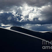 Drama Of The White Sands Art Print