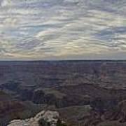 Dramatic Grand Canyon Sunset Art Print