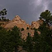 Dramatic Rushmore Art Print