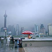 Dramatic Shanghai Art Print
