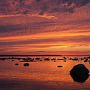 Dramatic Sunset Light Art Print