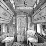 Drawing-room Car, 1869 Art Print
