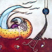 Dream Art Print by Belen Jauregui