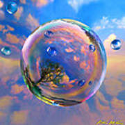 Dream Bubble Art Print by Robin Moline