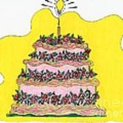 Dream Cake Art Print