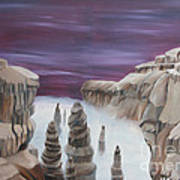 Dream Canyon Art Print