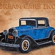 Dream Cars Inc. Art Print
