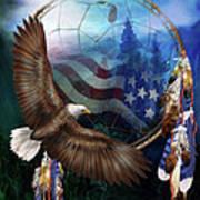Dream Catcher - Freedom's Flight Art Print