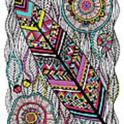 Dream Feather Art Print