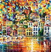 Dream Harbor Art Print