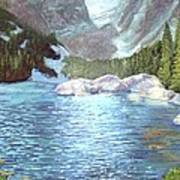 Dream Lake Art Print by Ron Bowles