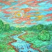 Dream River Art Print