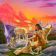 Dreamcatcher 8 Art Print