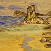 Dreaming Of Beaches Art Print