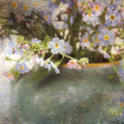 Dreaming Of Forget-me-nots Art Print