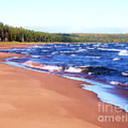 Dreaming Of Lake Superior Art Print