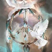 Dreams Of Peace Art Print