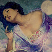 Dreams Of Yang Guifei Art Print