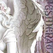 Dreamy Angel Wings Photography - Angel Wings Desiderata Print Home Decor Art Print