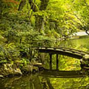 Dreamy Japanese Garden Art Print by Sebastian Musial