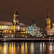 Dresden The Capital Of Saxony I Art Print