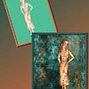 Dress Design 18 Art Print