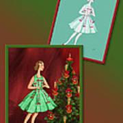 Dress Design 47 Art Print