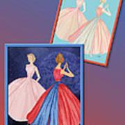Dress Design 52 Art Print
