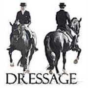 Dressage II Art Print