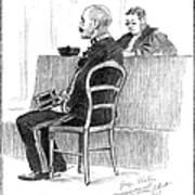 Dreyfus Affair 1899 Art Print