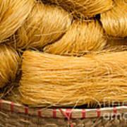 Dried Rice Noodles 04 Art Print
