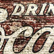 Drink Coca-cola 2 Art Print