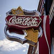 Drink Coca Cola Sign Art Print