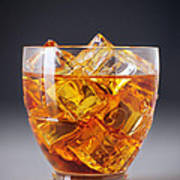 Drink On Ice Art Print