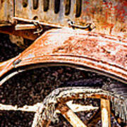 Drive The Tires Off Art Print