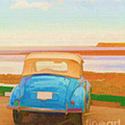 Drive To The Shore Print by Edward Fielding