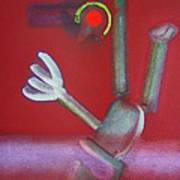 Falling Figure Art Print