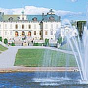 Drottningholm Palace, Stockholm, Sweden Art Print