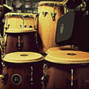 Drum Beat Art Print