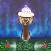 Drum Healing Art Print