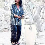 Drum Mother Art Print