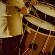 Drummers Art Print