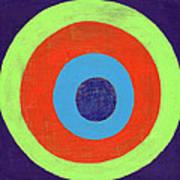 Drunk Circles Eight Art Print