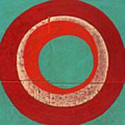 Drunk Circles Five Art Print