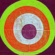Drunk Circles Seven Art Print
