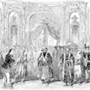 Drury Lane Theatre, 1854 Art Print